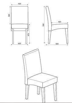 Conjunto 02 cadeiras estofadas (diversas cores) - CA 2702 - Movelaria