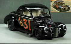 AMT 40 Ford Coupe - Under Glass - Model Cars Magazine Forum