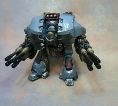 Space Wolves Leviathan Dreadnought by Lyden Procter (L.P Miniatures) of Pre-Heresy Painters Facebook group