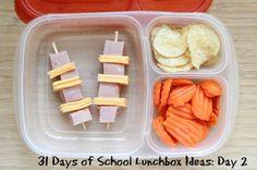 31 Days of School Lunchbox Ideas - Day #2 | 5DollarDinners.com
