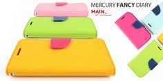 50% off Authentic Mercury Fancy Diary Case for iPhone 4 & Samsung Galaxy S3 – Choice of 11 Different Colours (Free Delivery Included)