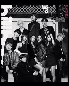 Todo o Nada (Blackpink x BTS) - MathildaSecret - Wattpad Bts Dispatch, Bts Maknae Line, Kpop Couples, Blackpink And Bts, Korean Couple, Blackpink Jennie, Blackpink Lisa, Wattpad, Bts Group