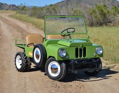 Bid for the chance to own a 1949 Crosley Farm-O-Road Prototype at auction with Bring a Trailer, the home of the best vintage and classic cars online. Antique Trucks, Antique Tractors, Antique Cars, Dirt Bike Girl, Girl Motorcycle, Motorcycle Quotes, Homemade Tractor, Utility Truck, Small Tractors