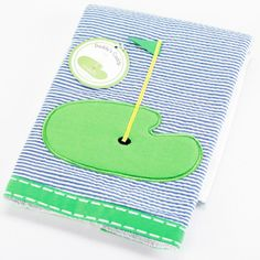 """Country Club Baby"" Golf Burp Cloth"