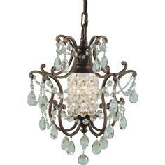 Murray Feiss F1879/1BRB Maison Ville Duomount Mini Pendant - Lighting Universe
