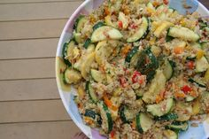Quinoa Salad with Toasted Almonds by Tasty Yummies, via Flickr