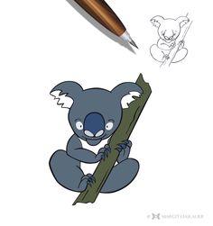 Charakter Design  #vectorgraphics #koala #margithaslauer Sonic The Hedgehog, Illustration, Fictional Characters, Design, Art, Art Background, Kunst, Illustrations