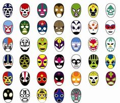 Mascaras de Lucha Libre on Behance