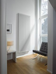 The Zehnder Charleston Vertical 2 column radiators, high. Available in White Anthracite and colour options. Flat Panel Radiators, Vertical Radiators, Column Radiators, Cast Iron Radiators, Traditional Radiators, Central Heating Radiators, Bathroom Radiators, Art Deco Home, Traditional Bathroom