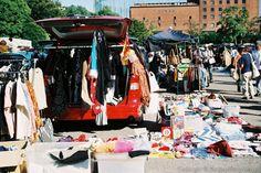flea market at Meiji Park, Tokyo
