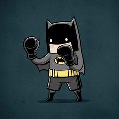 Batman Boxeador Fanart