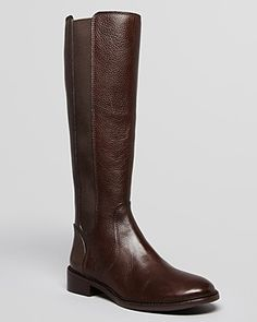 Tory Burch Riding Boots - Christy | Bloomingdale's 7.5in coconut