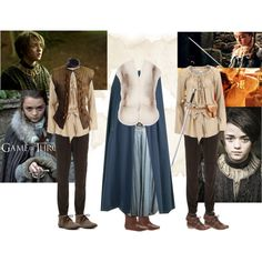 Arya Stark' Costumes!! ^_^ found who I wanna be for comic con next year. I already have her hair :p