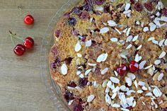 Obrácený třešňový koláč s karamelem / Bohyně kuchyně