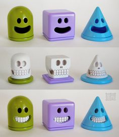 Very cool toy designs by Jason Freeny