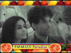 PRINCE and wife MANUELA TESTOLINI spotted inside Grammy brunch - 2004