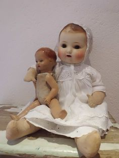Old dolls...