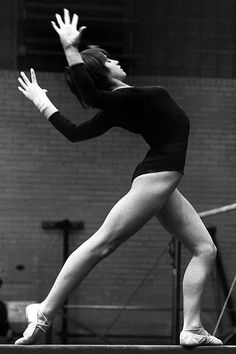 Nadia Comaneci - born November 12, 1961, is a Romanian gymnast, winner of three Olympic gold medals at the 1976 Summer Olympics in Montreal and the first female gymnast to be awarded a perfect score of 10 in an Olympic gymnastic event. She is also the winner of two gold medals at the 1980 Summer Olympics in Moscow.  In 2000 Comăneci was named as one of the athletes of the century by the Laureus World Sports Academy.