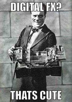 Lon Chaney.  Hey Hollywood, F*** your damn CGI!