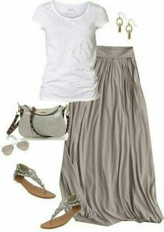 This would be a lovely holiday outfit for a nice casual evening