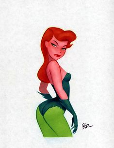 Poison Ivy <3 Bruce Timm