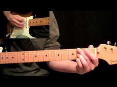 Stevie Ray Vaughan - Pride And Joy Guitar Lesson Pt.3 - 3rd Twelve Bar Progression - YouTube