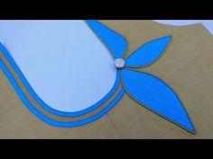 Is video me hum aapko ek beautiful bananaa batayege vo bhi kafi asan tareke k sat or agar aapne ye design apni kurti ya suit me bana liya to aapk. Chudithar Neck Designs, Salwar Neck Designs, Saree Blouse Neck Designs, Kurta Neck Design, Dress Neck Designs, Simple Embroidery Designs, Simple Blouse Designs, Kurti Sleeves Design, Designer Blouse Patterns