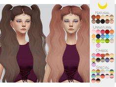 Kalewa-a's Hair Retexture 55 - LeahLillith�s Trendsetter