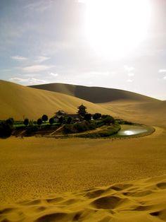 Yueyaquan Oasis Monastery
