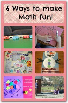 6 creative ways to make maths more FUN!