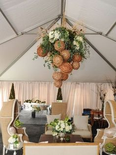 105 Greenery And Floral Chandeliers For Your Wedding   HappyWedd.com