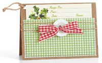Recipe Tag by @Windy Robinson - supplies and instructions included #Christmas
