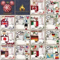 EPCOT Center World Showcase map | Map Obsession | Epcot, Disney ...