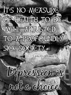 A profoundly sick society.