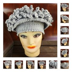 Crochet Pattern Womens Crochet Hat Pattern Womens Hat Crochet Cloche Hat with Fringe LINDA 5.00 USD by #strawberrycouture on #Etsy - MUST SEE!