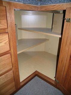 Corner Base Cabinet Shelves