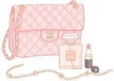 chanel <3  #pink #rosa #shokking/visit ocjohn.com