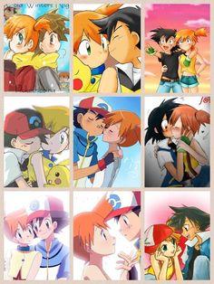 A wonderful Ash x Misty collage, part