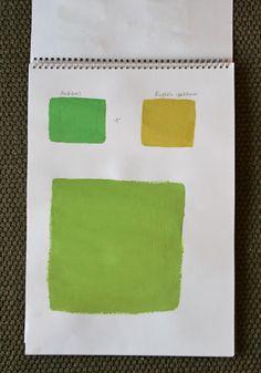 Antibes Green + English Yellow