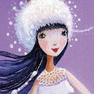 Square card by Mila Marquis by MarquisWonderland on Etsy
