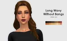 TESTED - WORKS! Kiara24's & KiwiSims's Hairs in NikSim Colors at ELLESMEA via Sims 4 Updates