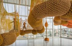 BRAZIL // The Art of Ernesto Neto: A Trip into the Ludic // Brazilian artist Ernesto Neto uses transparent, stretchy material, styrofoam pellets and pungent spices to create his installations of soft, biomorphic sculptures. // Continue reading: http://theculturetrip.com/south-america/brazil/articles/the-art-of-ernesto-neto-a-trip-into-the-ludic-/