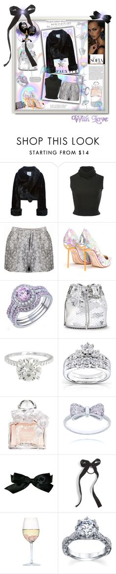 """""""Moschino Vintage Artificial Fur Coat"""" by jaymagic ❤ liked on Polyvore featuring Moschino, Brandon Maxwell, Sophia Webster, STELLA McCARTNEY, Kobelli, Guerlain, Chanel, Cara, RabLabs and vintage"""