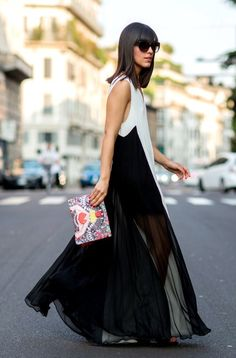 best maxi I've seen in ages.... can we please see that again? Paris.