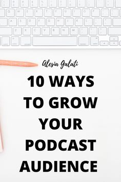 These are ways to organically grow your podcast audience. Love Wellness, Podcast Tips, Starting A Podcast, Success And Failure, Word Of Mouth, Earn Money From Home, Work From Home Moms, Business Entrepreneur, Book Club Books