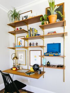 BoxLunch Home Office Design, Home Office Decor, Cool Office Space, Formal Living Rooms, Home Decor Furniture, Decoration, Home Accessories, Shelving, Bedroom Decor