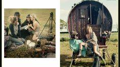 Gypsy, bohemian, boho☮ style, fashion, clothes, jewelry, feathers, Kate Moss
