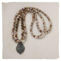 Buddha amulet necklace loooooooooove