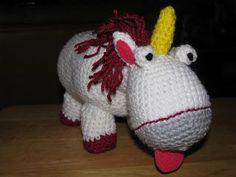 Despicable Unicorn - CROCHET - patern
