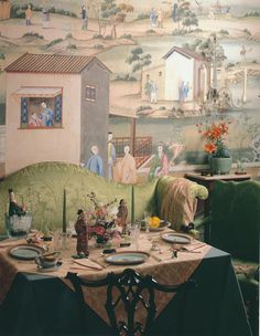 card table supper